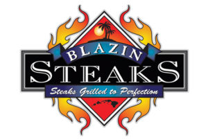 :Blazin-Steaks logo