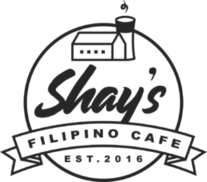 Shays Filipino cafe logo