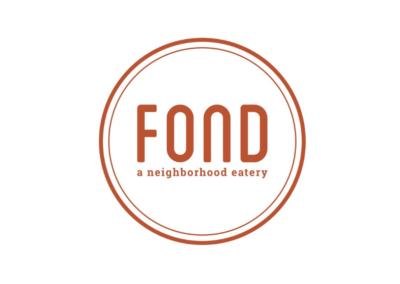 Fond, a neighborhood eatery